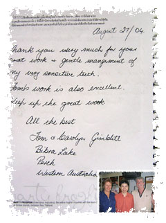 Thailand Dentist:Reviews/Testimonials at Phuket Dental Clinic