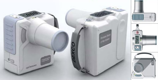 Portable digital xray camera